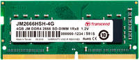 Оперативная память Transcend Jetram JM2666HSH-4G 4GB JM2666HSH-4G