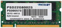 Оперативная память PATRIOT PSD22G8002S