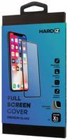 Защитное стекло HARDIZ Full Screen Cover Premium Glass для iPhone Xs Max с чёрной рамкой