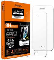 Защитное стекло Spigen для Apple iPhone 5/iPhone 5C/iPhone 5S/iPhone SE