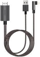 Переходник Wiwu HDMI Lightning 2м (Black/White)