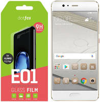 Защитное стекло Dotfes для Huawei P10 Plus E01