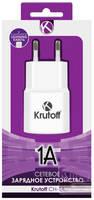 Сетевое зарядное устройство Krutoff CH-14, 1 USB, 1 A