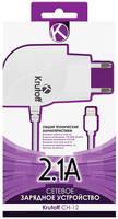 Сетевое зарядное устройство Krutoff CH-12, 1 USB, 2,1 A