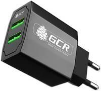 Сетевое зарядное устройство GCR CA-28Plus, 2 USB порта 3.1A