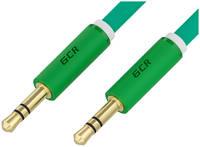 Кабель AUX GCR GCR-52690 Jack 3.5mm - Jack 3.5mm 1.0m Green