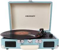 Проигрыватель виниловых пластинок Crosley Cruiser Deluxe Turquoise