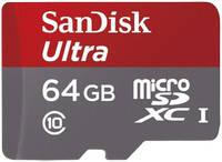 Карта памяти SanDisk Micro SDXC Ultra UHS-I 64GB