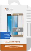 Защитное стекло InterStep для Nokia 5.1 (2018) Black Full Screen Cover для Nokia 5.1 2018. черная рамка