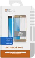 Защитное стекло InterStep для Nokia 2.1 Black Full Screen Cover для Nokia 6.1. черная рамка