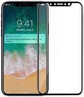 Защитное стекло Hardiz Full screen cover для Apple iPhone X Black Tempered Glass