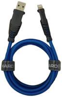Кабель Hardiz hrd505102 Lightning 1.2 м Blue MFI 1,2м Blue