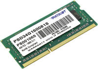 Оперативная память PATRIOT Signature Line PSD34G1600L81S DDR3L 4GB
