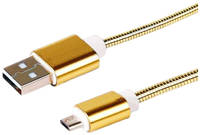 Кабель Rexant microUSB 1м Gold 18-4243-9