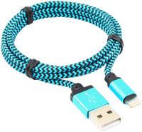 Кабель Cablexpert Lightning 1м Blue cc-apusb2bl1m