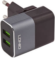 Сетевое зарядное устройство LDNIO A2206, 2 USB, 3 A