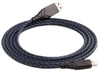 Кабель Energea Nylo Glitz USB to Apple Lightning 1.5m Black/Blue