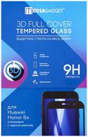 Защитное стекло MediaGadget 3D Full Cover для Honor 8X Black