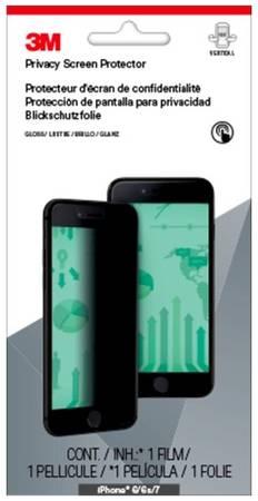 Пленка защиты информации для экрана 3M MPPAP001 для Apple iPhone 6/6S/7 1 шт [7100042779]