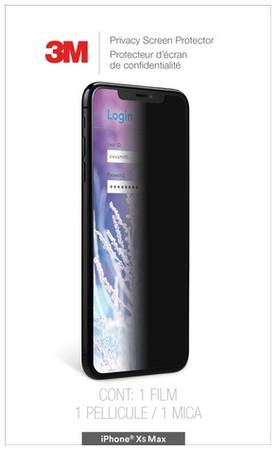 Пленка защиты информации для экрана 3M MPPAP019 для Apple iPhone XS Max 1 шт [7100218152]