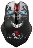 Мышь A4TECH Bloody R8 metal feet Skull design, игровая, оптическая, беспроводная, USB, [r8 skull]