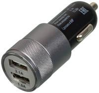 Автомобильное зарядное устройство Buro TJ-189, 2xUSB, 2.1A