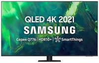 "QLED телевизор SAMSUNG QE85Q77AAUXRU, 85"", Ultra HD 4K"
