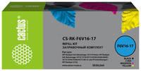 Чернила CACTUS CS-RK-F6V16-17, 30мл, многоцветный
