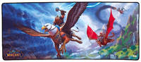 Коврик для мыши Blizzard World of Warcraft 15th Anniversary Gryphon Rider, XL, рисунок [b64060]