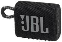 Портативная колонка JBL GO 3, 4.2Вт, [jblgo3blk]