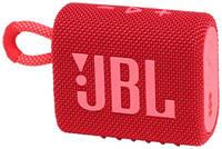 Портативная колонка JBL GO 3, 4.2Вт, [jblgo3red]