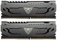 Модуль памяти Patriot Viper Steel PVS464G320C6K DDR4 - 2x 32ГБ 3200, DIMM, Ret