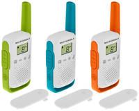 Комплект раций Motorola Talkabout T42 Triple 16кан. до 4км компл.:3шт AAA ///го