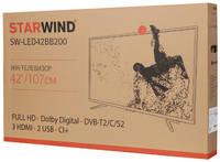 """Телевизор STARWIND SW-LED42BB200, 42"""", FULL HD"""