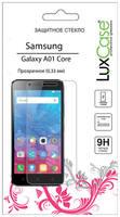 Защитное стекло для экрана LuxCase для Samsung Galaxy A01 Core прозрачная, 1 шт [82629]