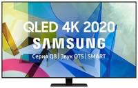 "QLED телевизор SAMSUNG QE55Q80TAUXRU, 55"", Ultra HD 4K"
