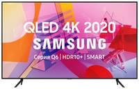 "QLED телевизор SAMSUNG QE50Q60TAUXRU, 50"", Ultra HD 4K"