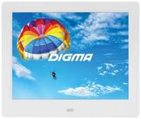 Цифровая фоторамка Digma PF-843 IPS, 8″, [pf843w]
