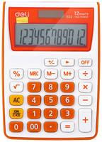 Калькулятор Deli E1122/OR, 12-разрядный