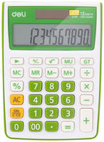 Калькулятор Deli E1238/GRN, 12-разрядный