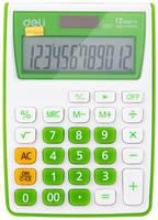 Калькулятор Deli E1122/GRN, 12-разрядный