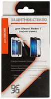 Защитное стекло для экрана DF xiColor-55 для Xiaomi Redmi 7 прозрачная, 1 шт, черный [df xicolor-55 (black)]