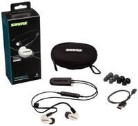 Беспроводные наушники Shure SE215SPE-W+BT2-EFS
