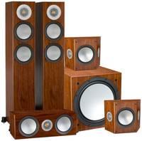 Комплект акустики Monitor Audio 5.1 200 AV12 Walnut
