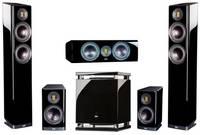 Комплект домашнего кинотеатра ELAC Vela High Gloss + Arcam AVR30