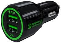 Зарядное устройство автомобильное Red Line AC2-30 УТ000015783 2 USB, Quick Charge 3.0
