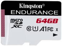 Карта памяти 64GB Kingston SDCE/64GB MicroSDXC, Class 10 A1 UHS-I