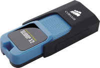 USB Flash Drive Corsair Flash Voyager Slider X2 64GB Black-Light Blue Slider X2 CMFSL3X2-64GB