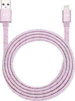 Аксессуар Just Mobile USB - Lightning 1.2m Pink DC-268BRG