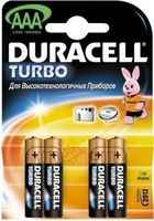 Duracell LR03-4BL TURBO (4шт) (AAA)